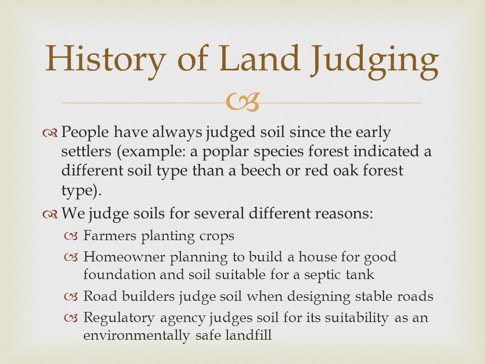   This land would be considered severe erosion hazard. Erosion Hazard