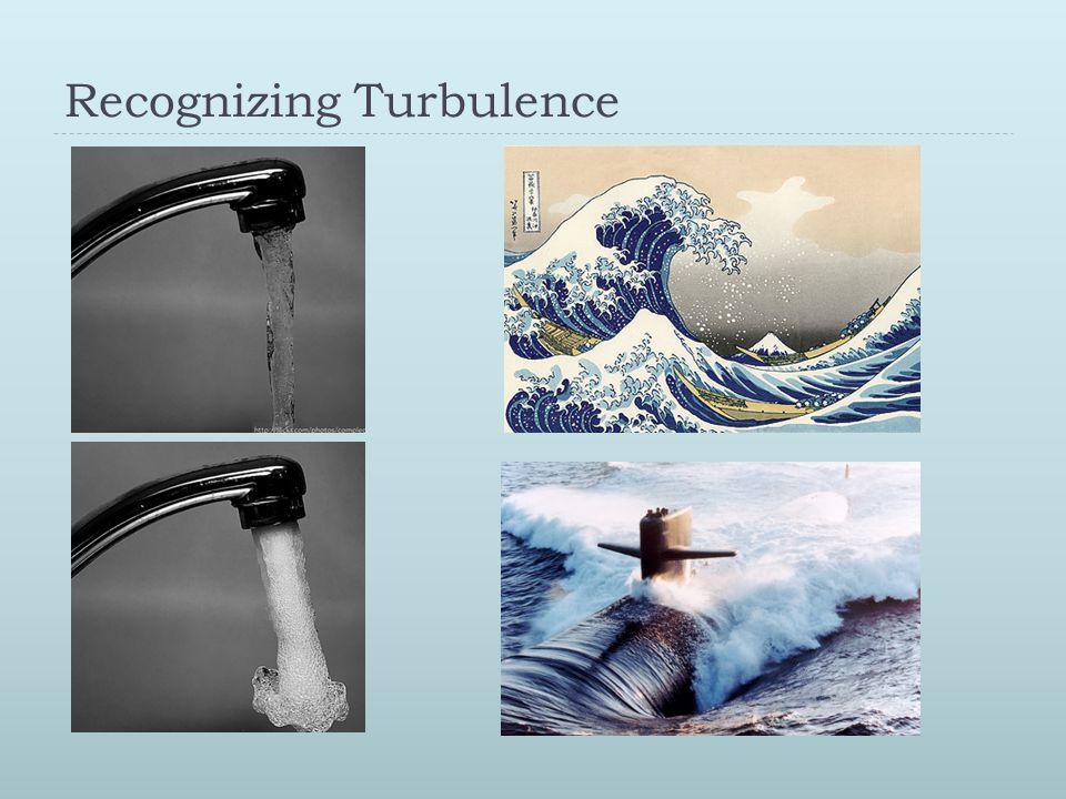 Recognizing Turbulence