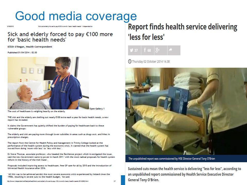 Trinity College Dublin, The University of Dublin Good media coverage