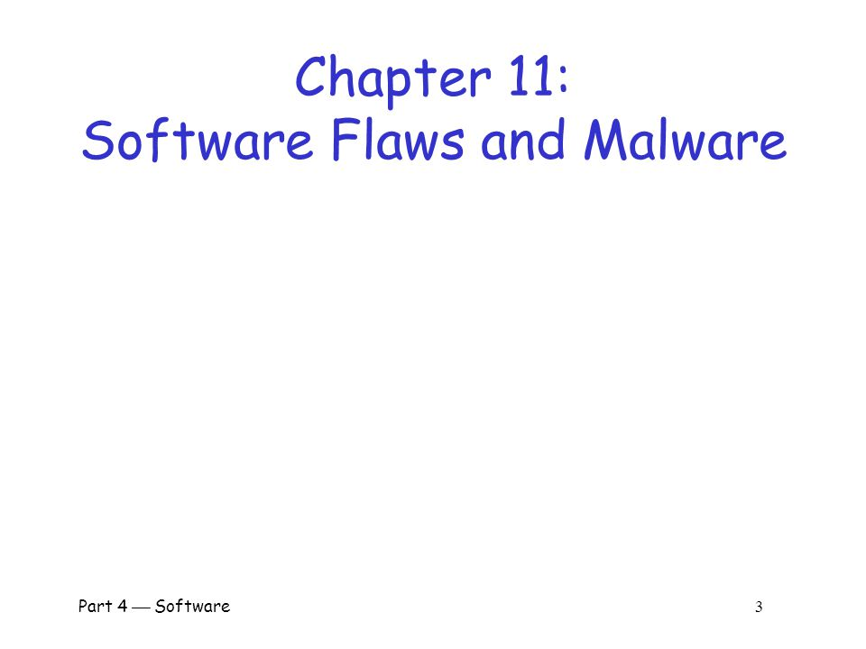 Part 4  Software 2 Why Software.