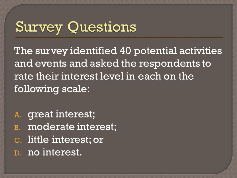  Develop a marketing strategy. Missouri River would be a key selling point.