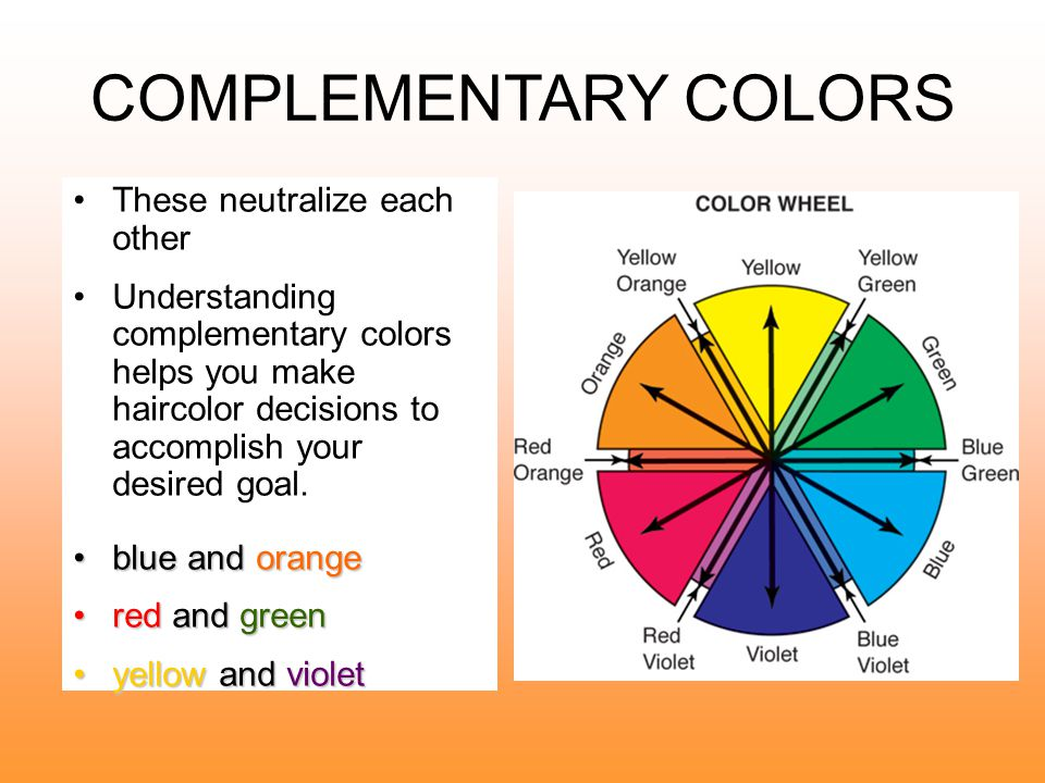 TERTIARY COLORS Mix a secondary color with a neighboring primary color in equal amounts.
