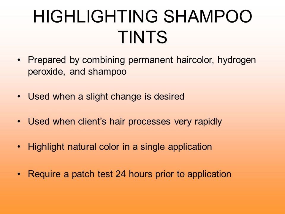TONING OVERHIGHLIGHTED AND DIMENSIONALLY COLORED HAIR Hair that is highlighted may not need a toner; it depends whether the desired tone is reached.