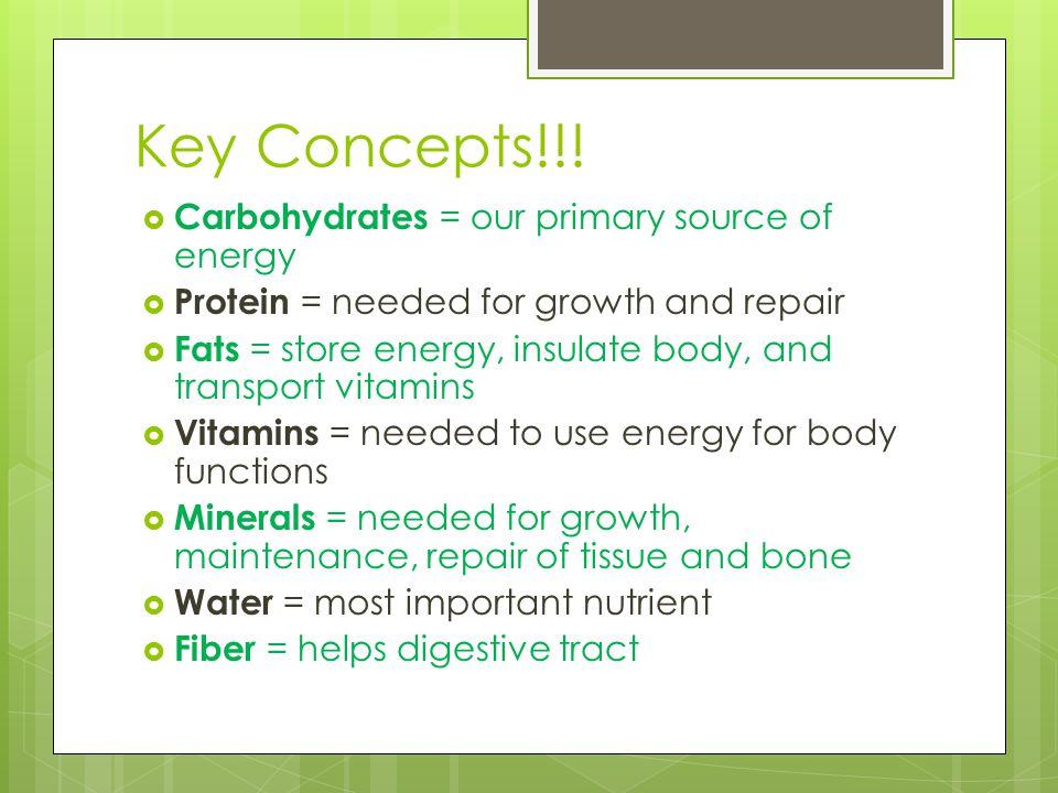 Key Concepts!!.