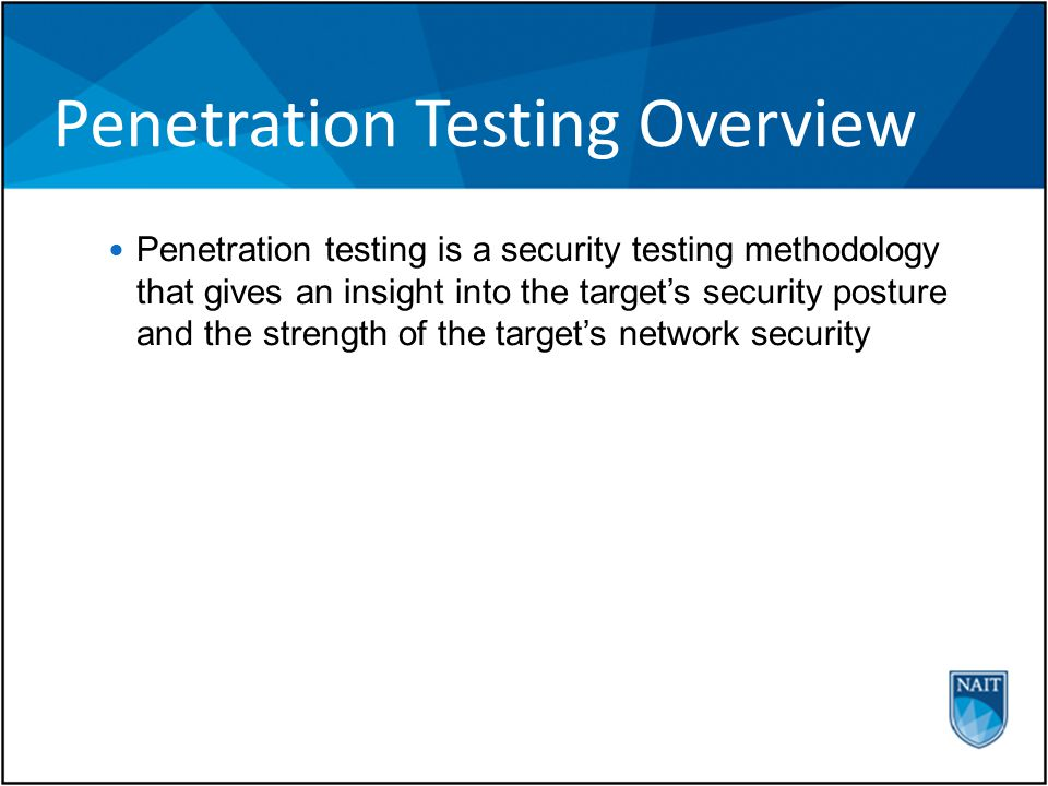 Penetration Testing Tools and Techniques SQL Injection Attack Class of injection exploits that occur when one scripting is embedded inside another scripting language SQL commands are added to input fields in program or web page ' or 1=1 Preventing SQL injection requires enforcing better coding practices