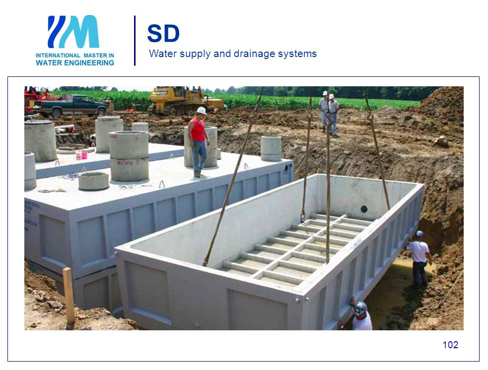 SD Water supply and drainage systems 102