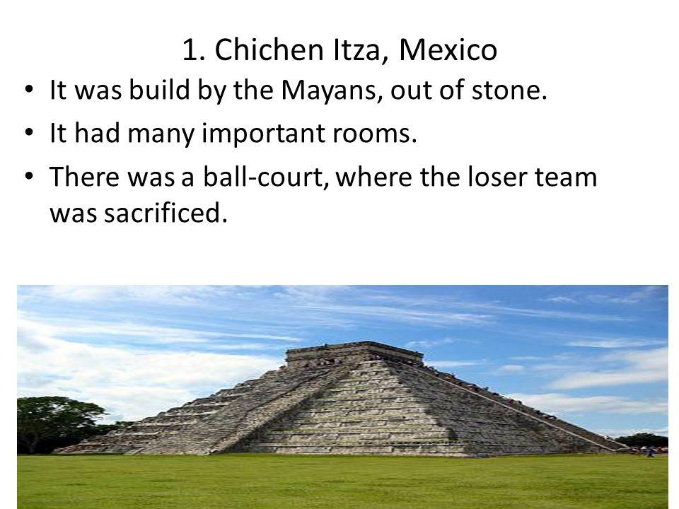 2.Machu Picchu, Peru It was home to the Incan ruler, Pachacutec.