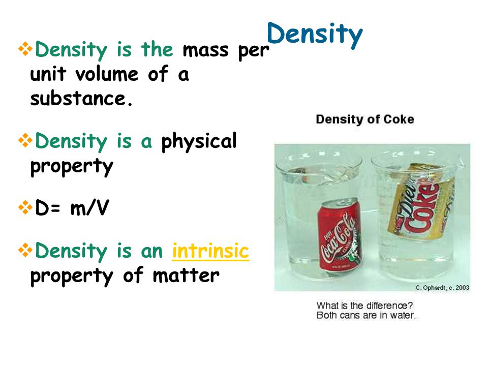 12.3 Density and buoyancy Average density helps determine whether objects sink or float.