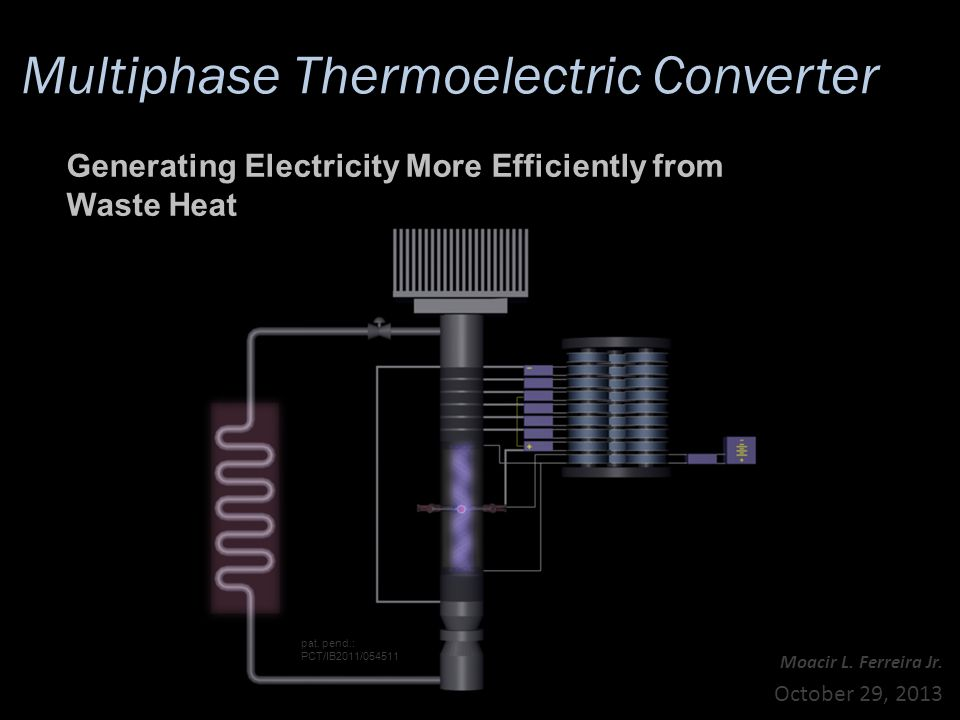 Multiphase Thermoelectric Converter Moacir L. Ferreira Jr.