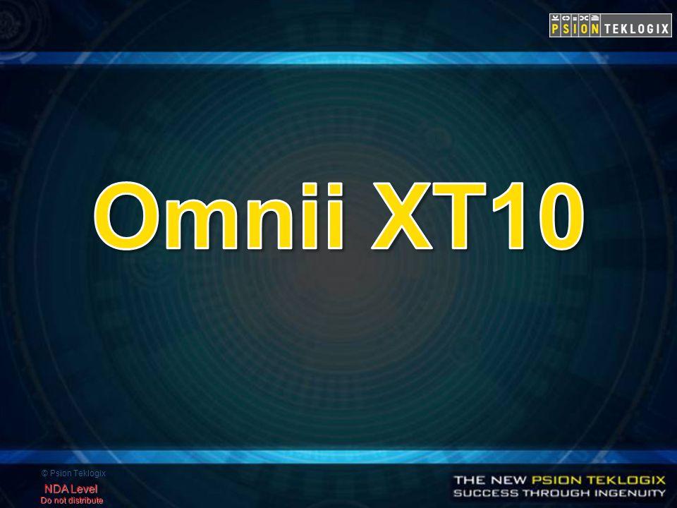 © Psion Teklogix NDA Level Do not distribute