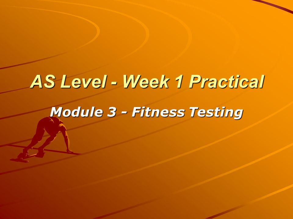 Aims Define fitness.Define V02 max Take student's peak flow.