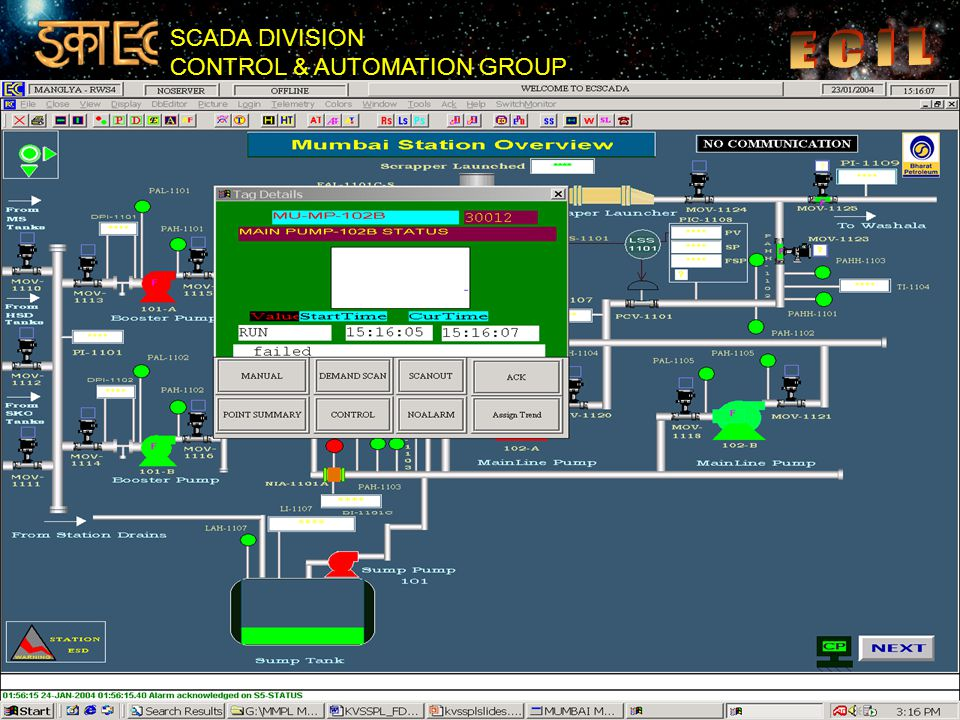 SCADA DIVISION CONTROL & AUTOMATION GROUP 35