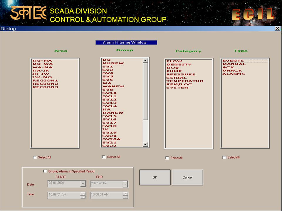 SCADA DIVISION CONTROL & AUTOMATION GROUP 42