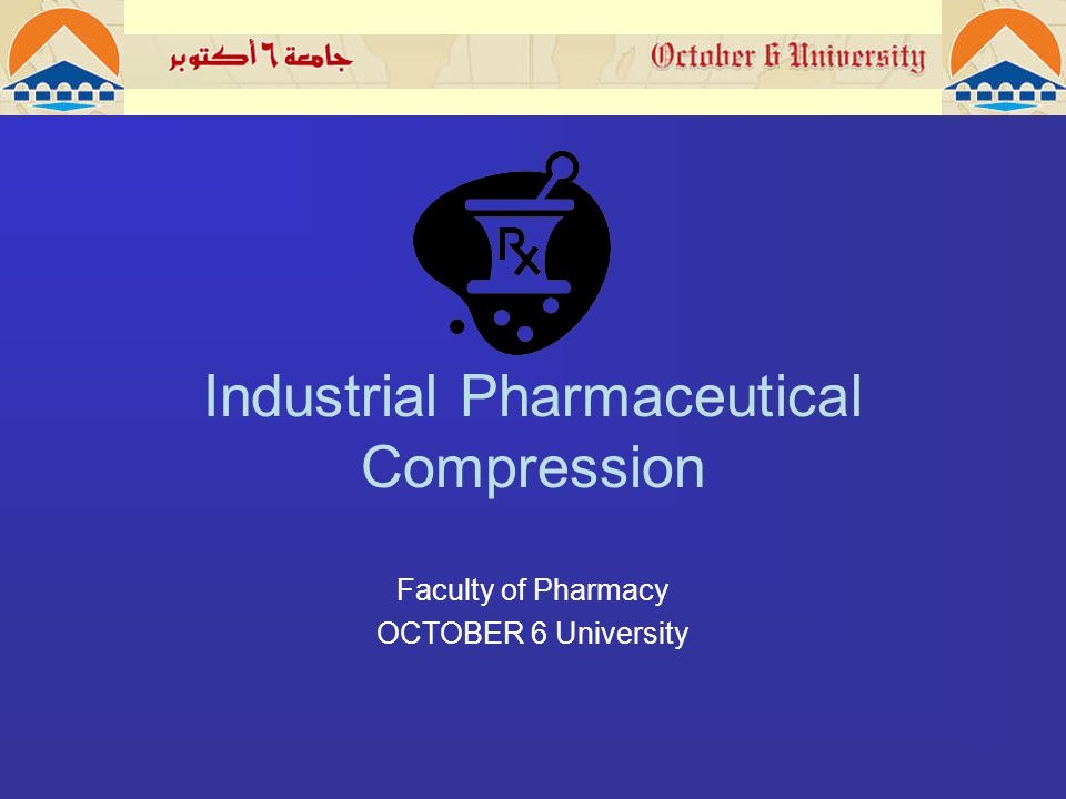 COMPRESSION : It is process of applying pressure to a material.an appropriate volume of granules in a die cavity is compressed bet.