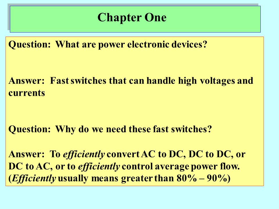 H.W#1 End of Lecture **** Eng.moayed In no more than one page : Write about one of modern Applications of Power electronic converters.