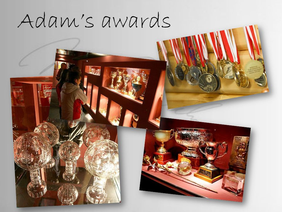 Adam's awards