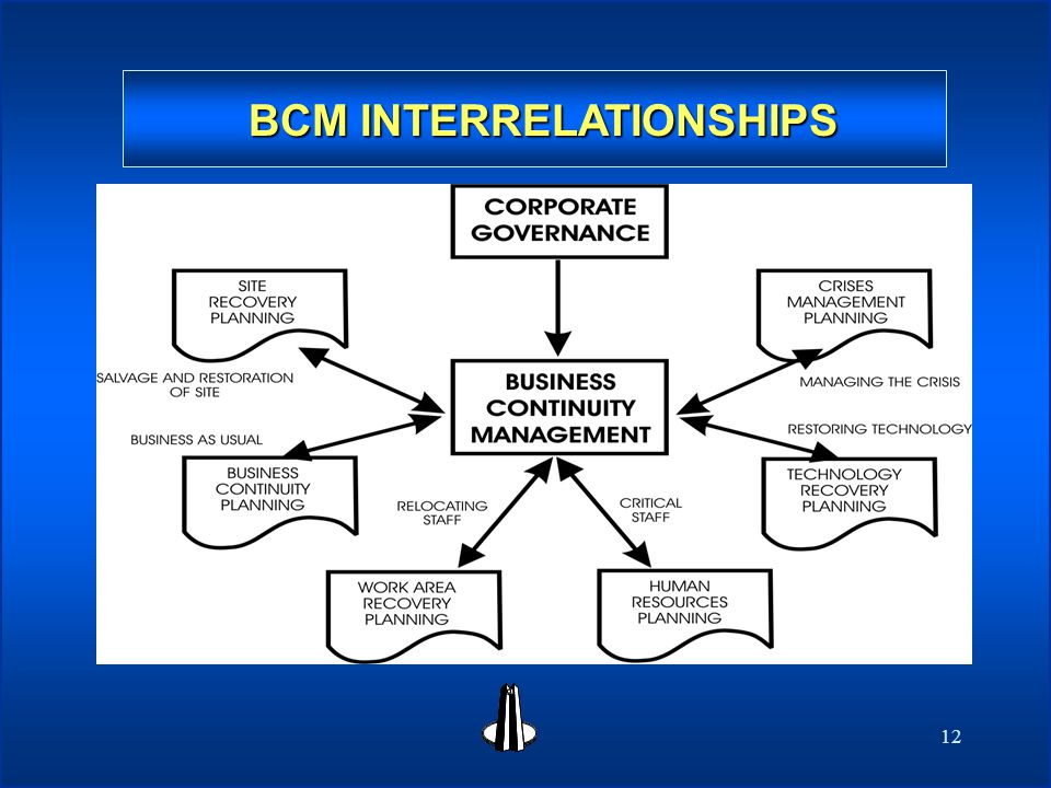 12 BCM INTERRELATIONSHIPS