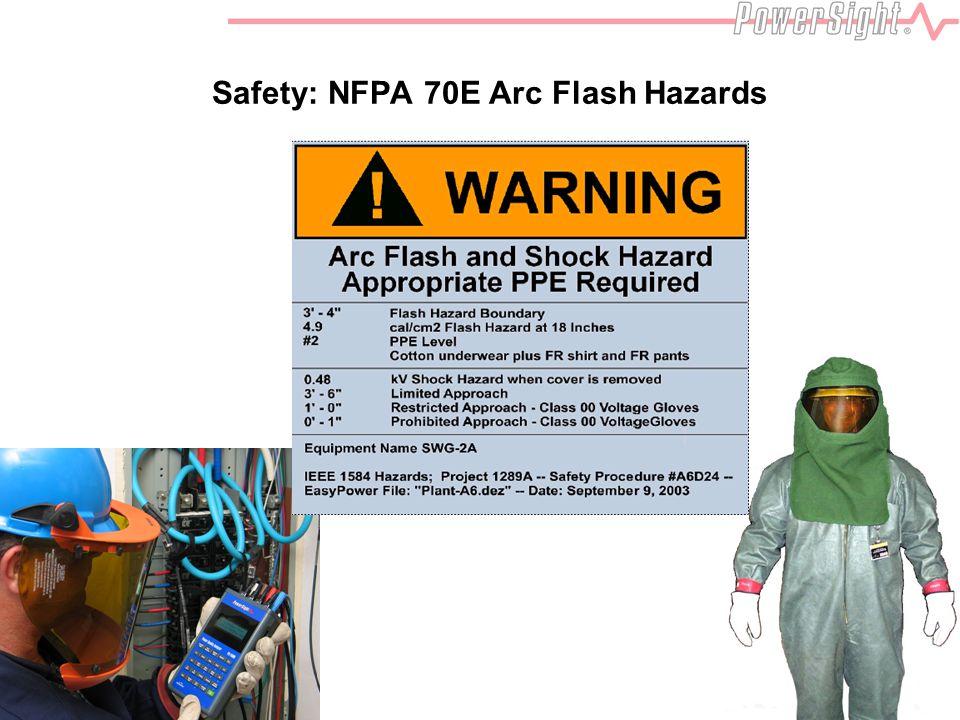 Safety: NFPA 70E Arc Flash Hazards