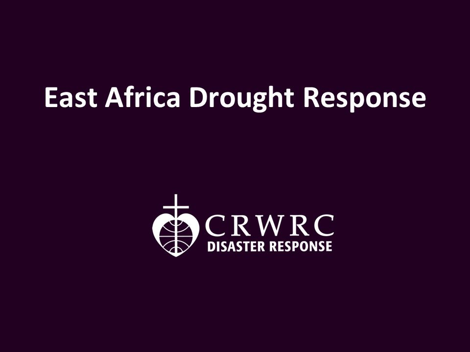 Today, 12.4 million people are in desperate need of assistance in East Africa