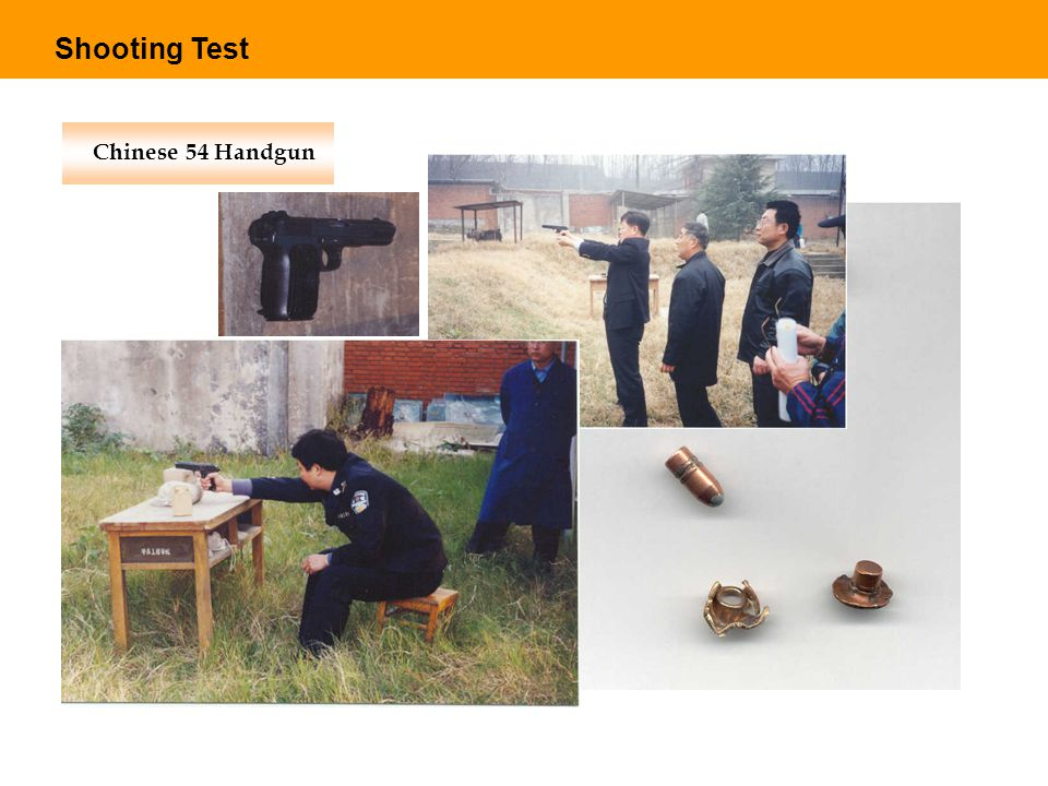 Shooting Test Chinese 54 Handgun