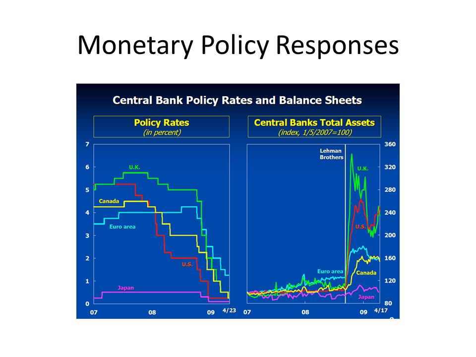 Monetary Policy Responses