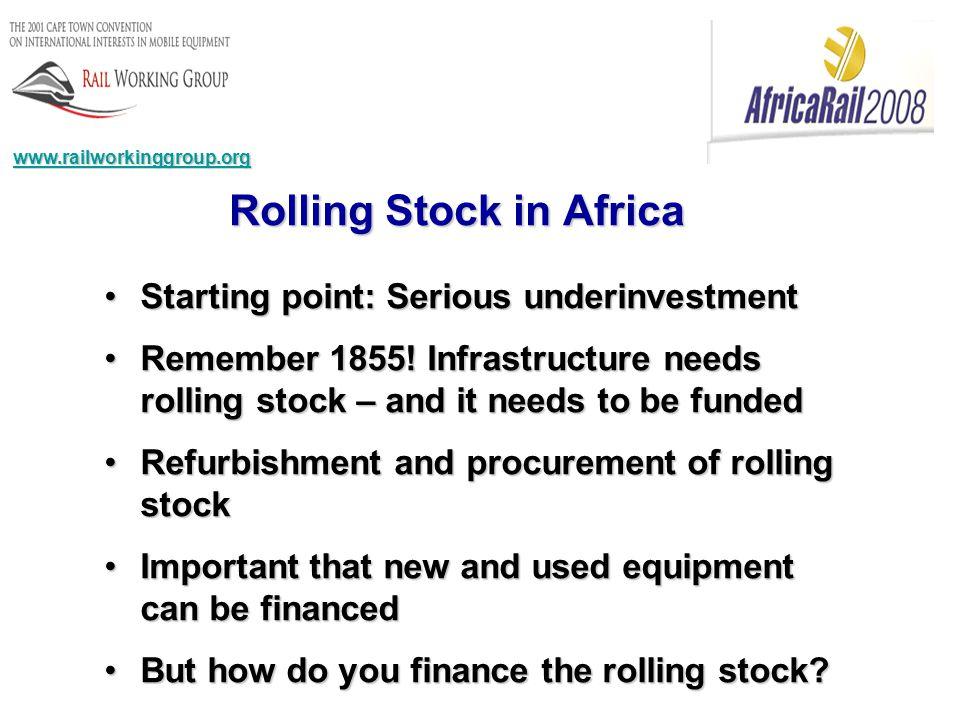 Starting point: Serious underinvestmentStarting point: Serious underinvestment Remember 1855.