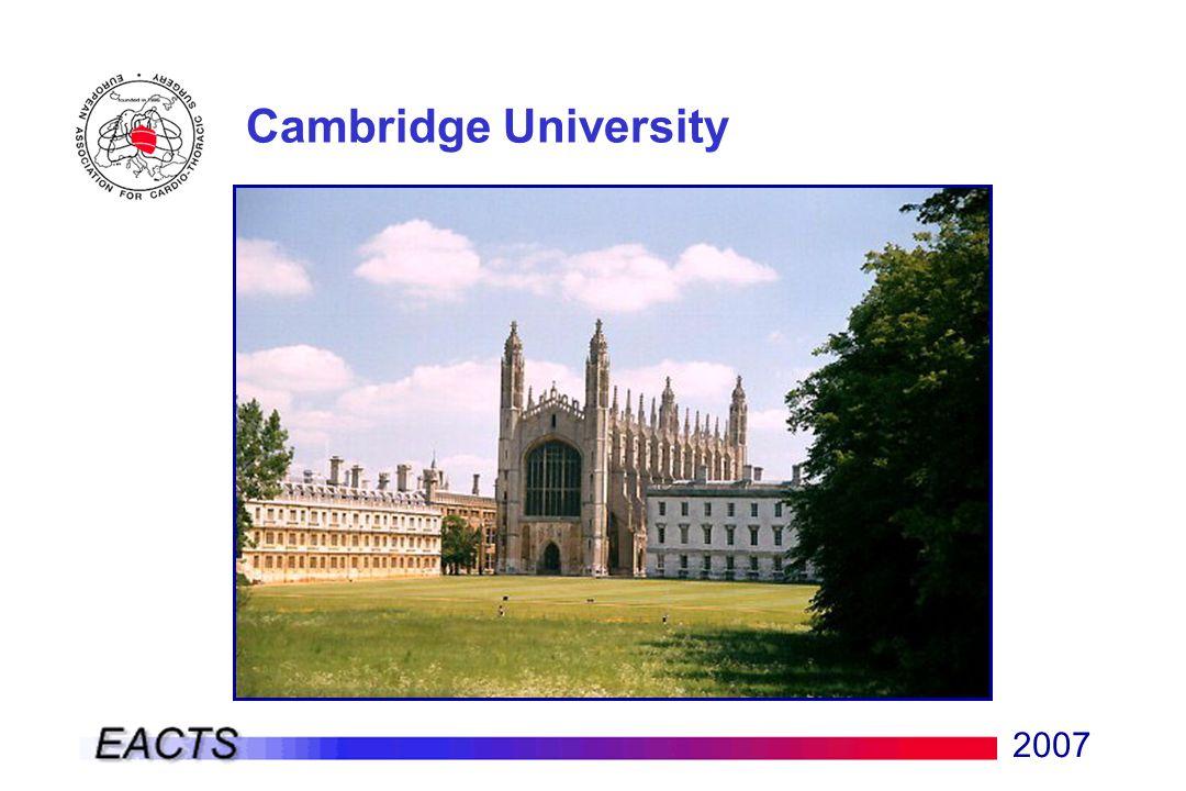 2007 Cambridge University
