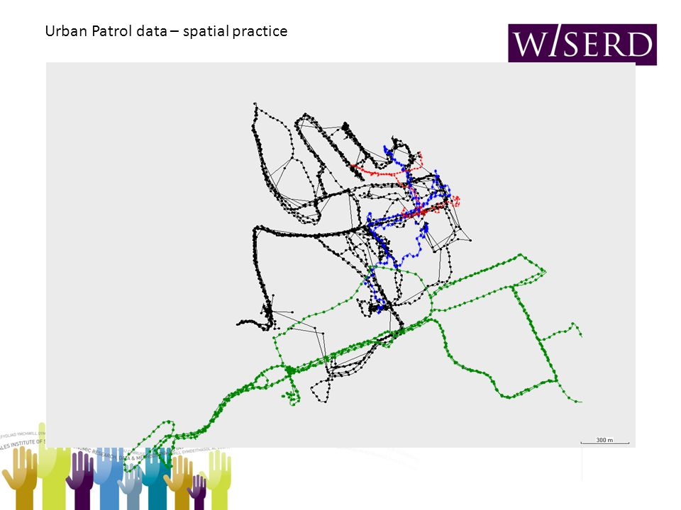 Urban Patrol data – spatial practice