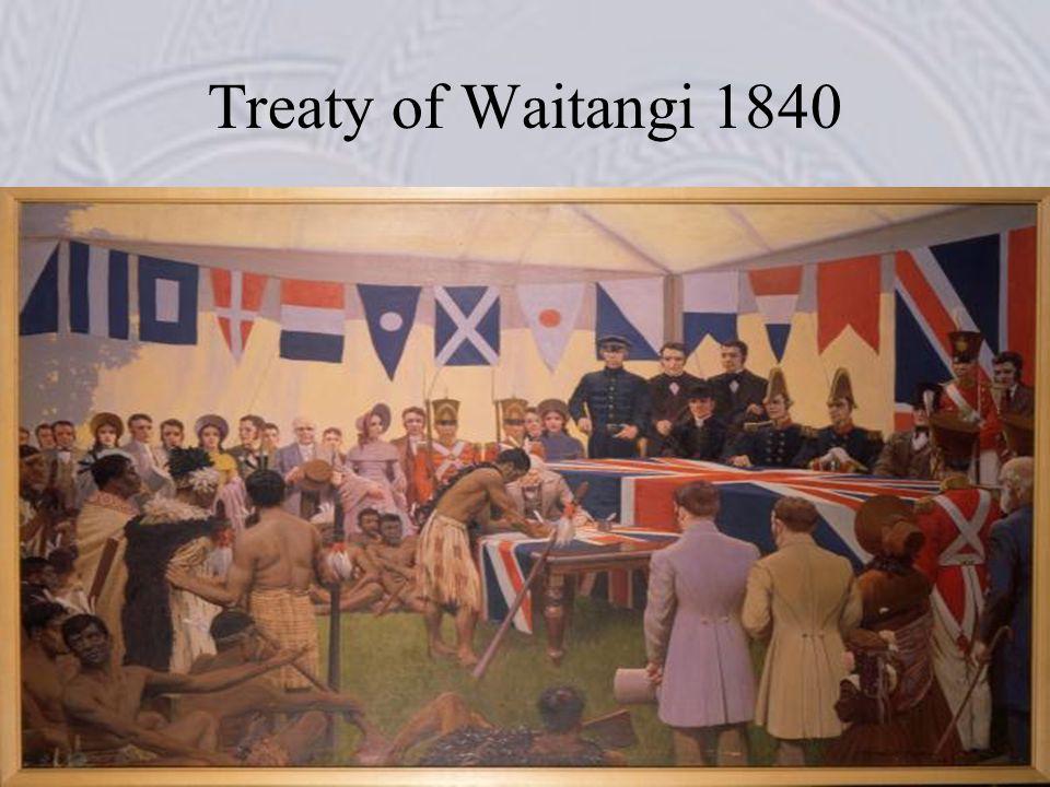 Treaty of Waitangi 1840