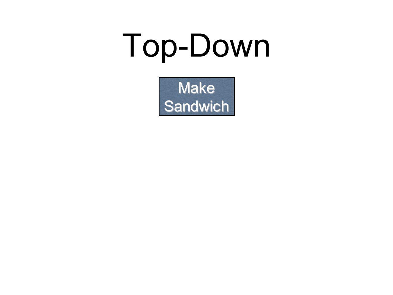 Top-Down Make Sandwich
