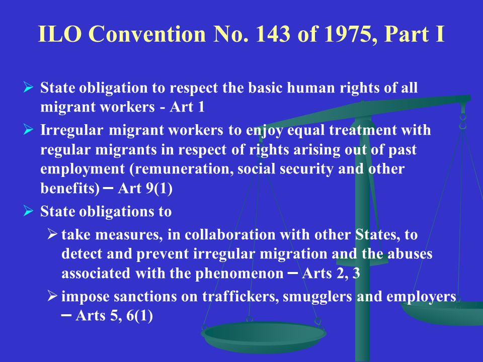 ILO Convention No.