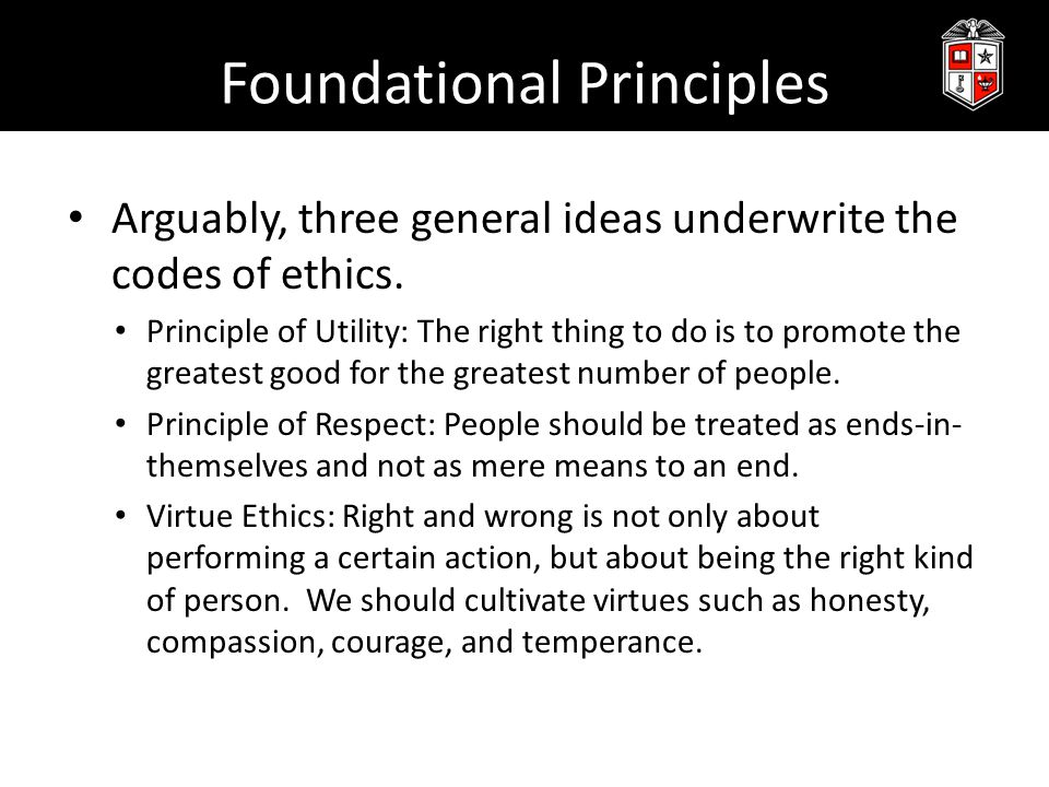 Incorporating Ethics into STEM It can be helpful to refer to these codes of ethics and approaches when discussing ethics in PBL contexts.