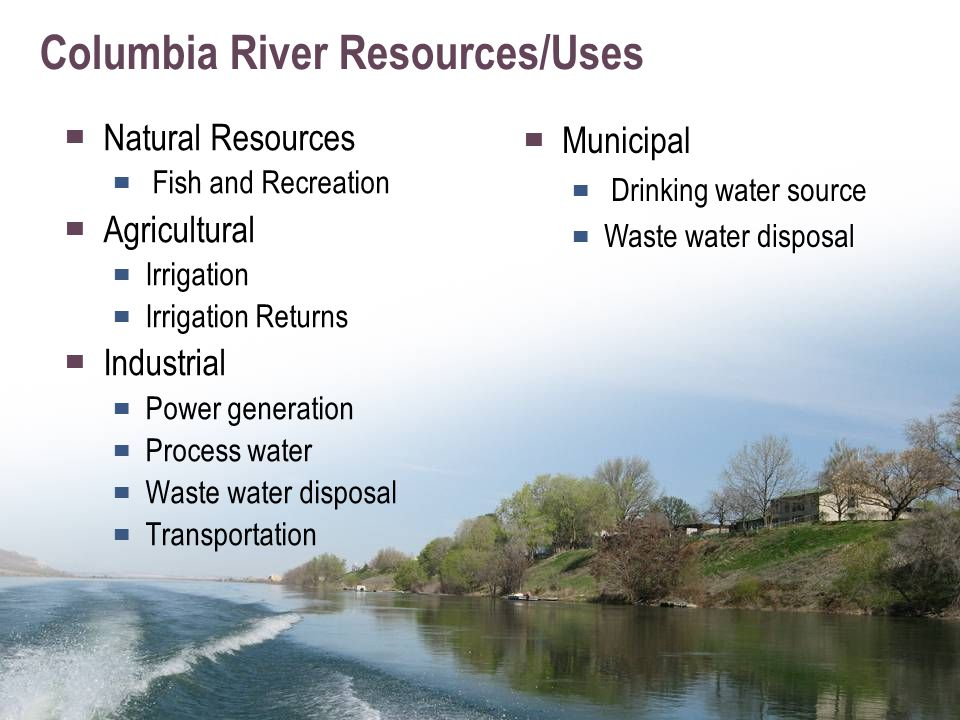Columbia River Activity Pre – development, pre – 1880s Native Americans have lived along the Columbia River, from the mouth of the Snake River all the way to the Pacific Ocean, for thousands of years and countless generations.