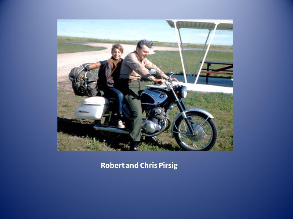 Robert and Chris Pirsig