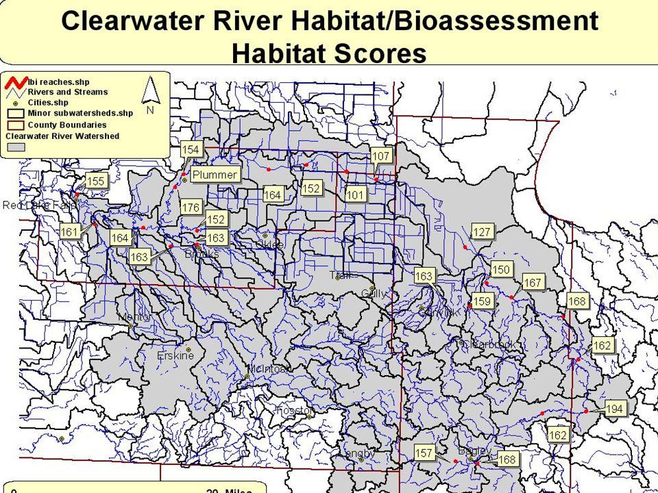 Habitat Assessment Results