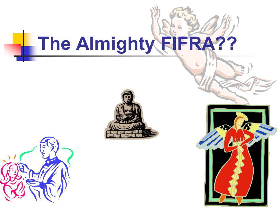 The Almighty FIFRA??