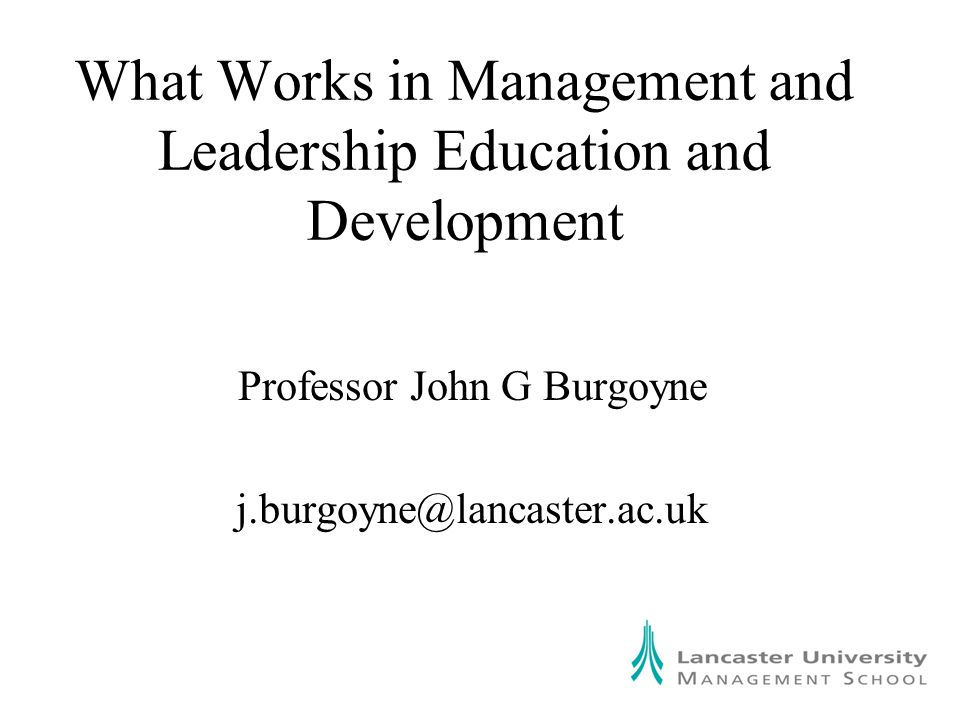 In my presentation a number of years ago and a paper subsequently published in the Action Learning Research Journal I raised the question of what exactly is carried forward, if anything, from action learning See various Burgoyne refs.
