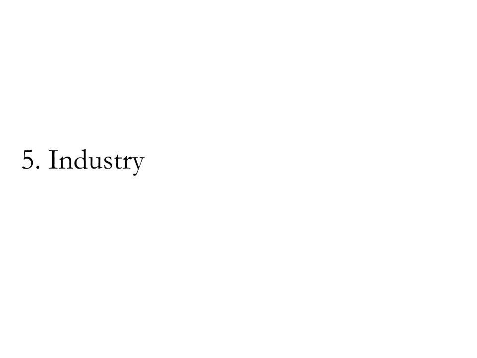 5. Industry