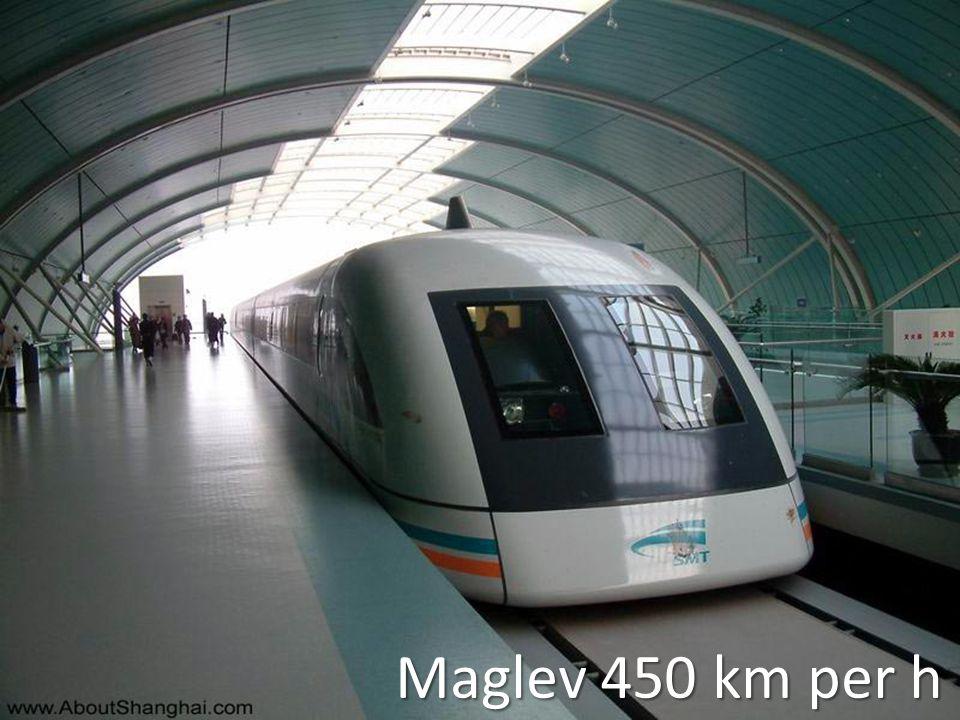 Maglev 450 km per h