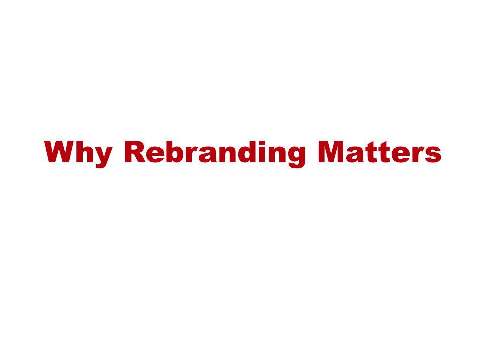 Why Rebranding Matters