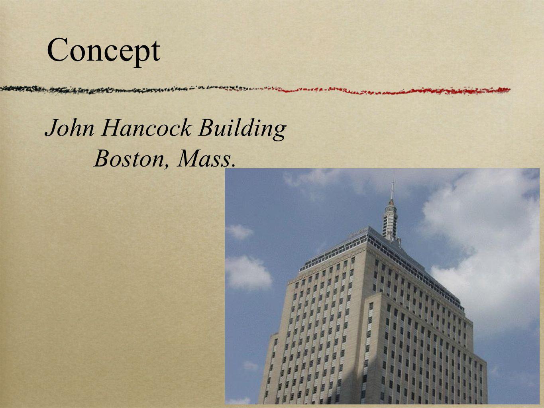 Concept John Hancock Building Boston, Mass.