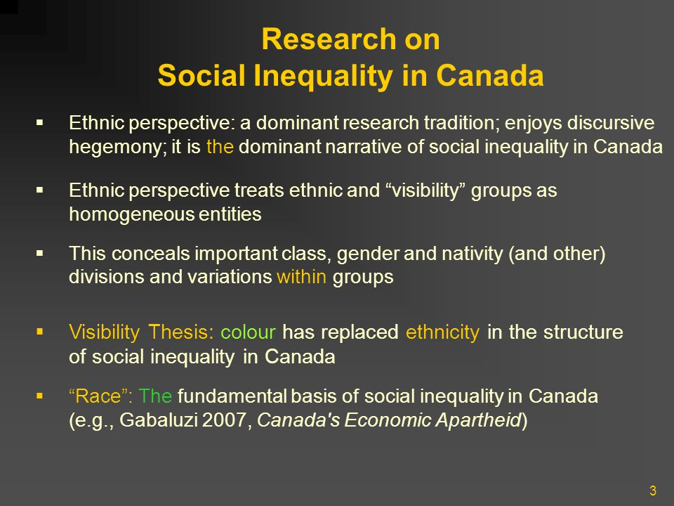 4 Inter-sectionalist Theorizing  Mono-causal, mono-dimensional approaches inadequate for analyzing social relations; complex character of social inequality  Integrationist / inter-sectionalist approaches: class, gender and race /ethnicity fundamental axes of social organization; important in the matrix of domination (but not dominant perspective, Stasiulis,1999)  Must understand the simulteneity, interactivity of class, gender, race /ethnicity  Although analytically distinct: inter-locking, mutually- determining, reinforcing social relations  Any two sets of social relations are always present in, permeate, inform and (re-)define the third