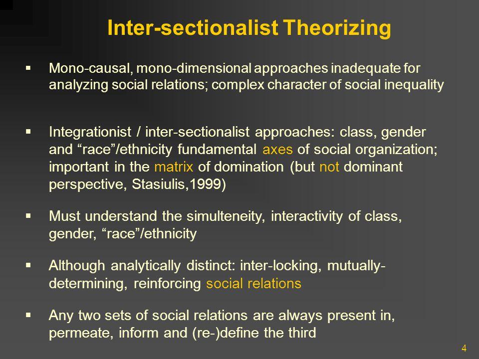 15 Ethnic groups are not homogeneous, monolithic entities.