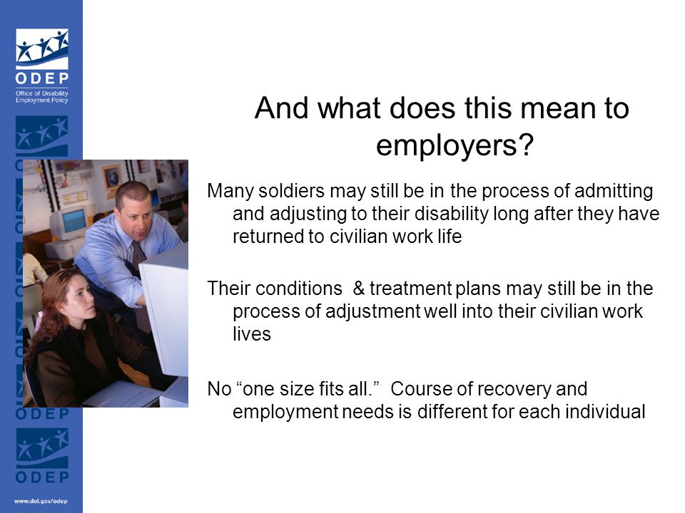 And what does this mean to employers.
