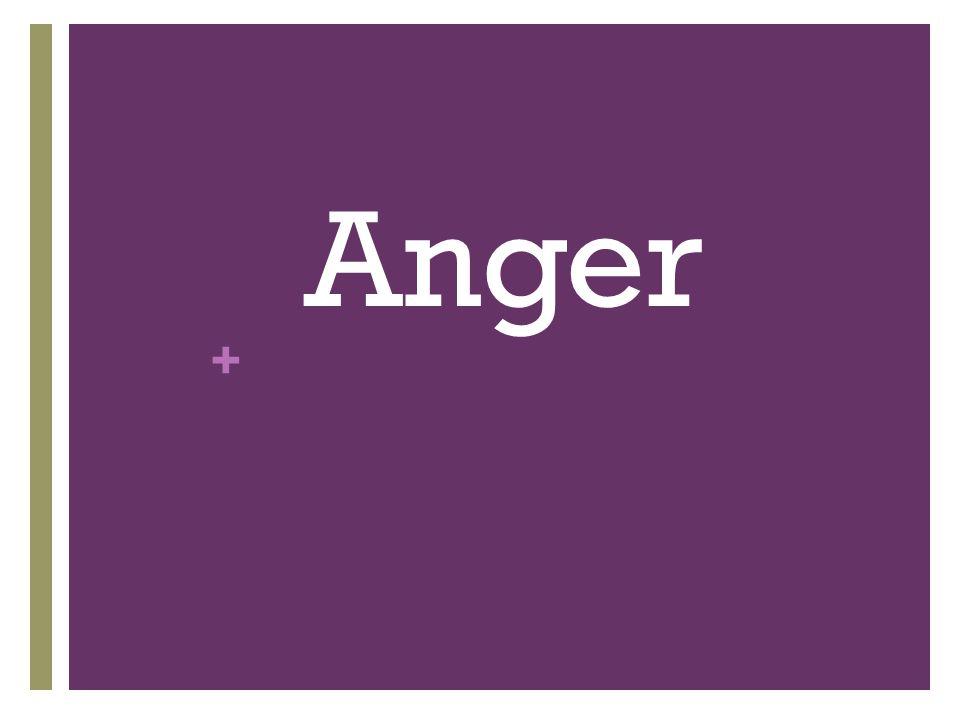 + Anger
