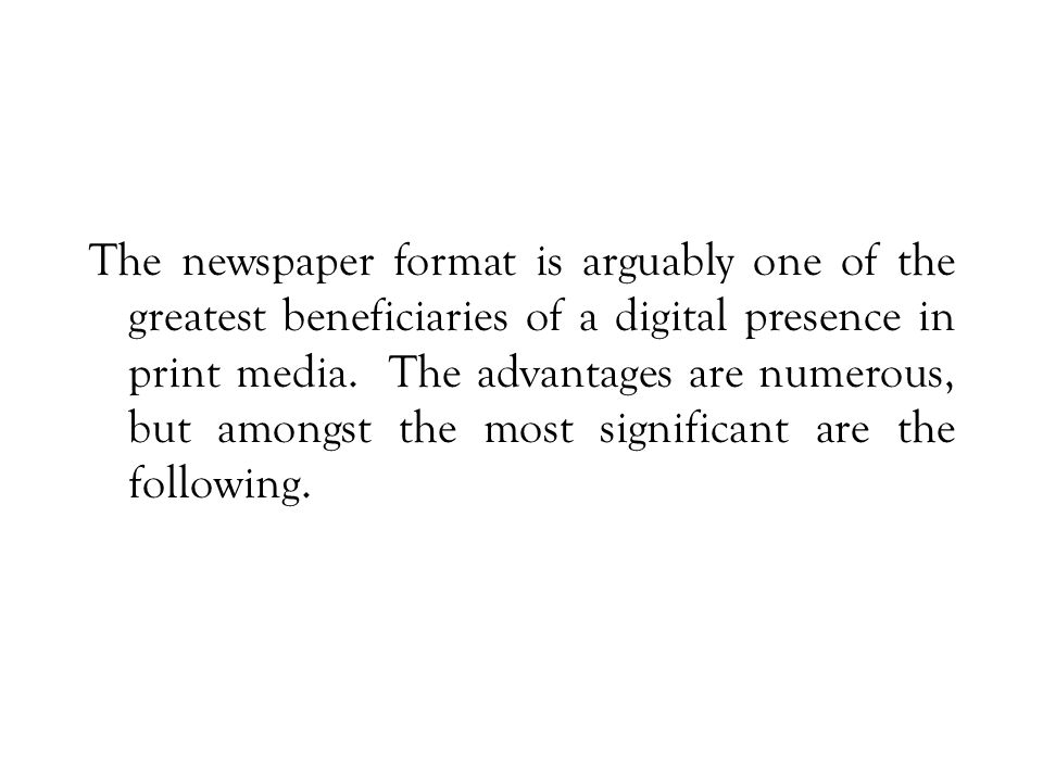 The former category tends to have short pieces that are more oriented to opinion or impression, while the latter tends towards more serious and longer pieces, with an emphasis on research and assimilation of a wider range of sources than is typical or possible for a daily publication.