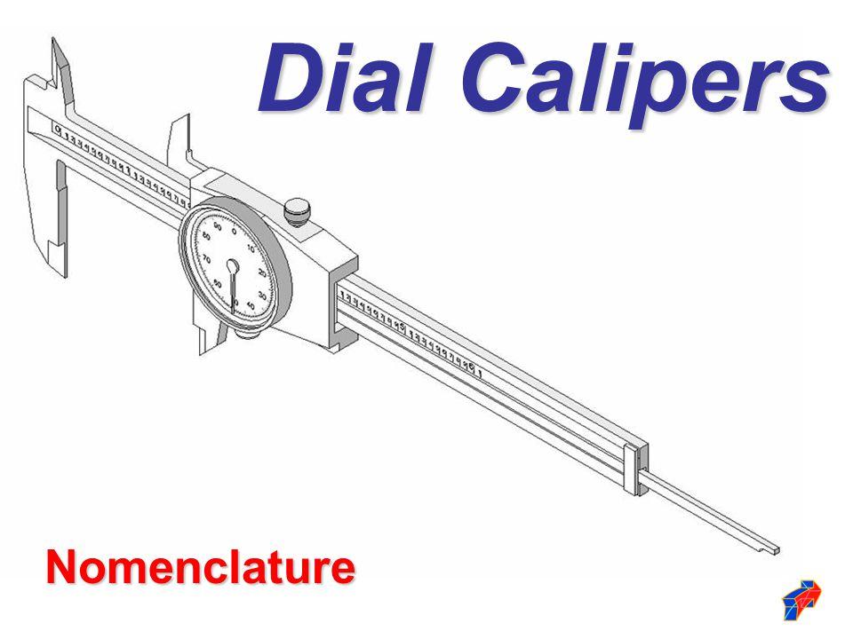 Nomenclature Dial Calipers