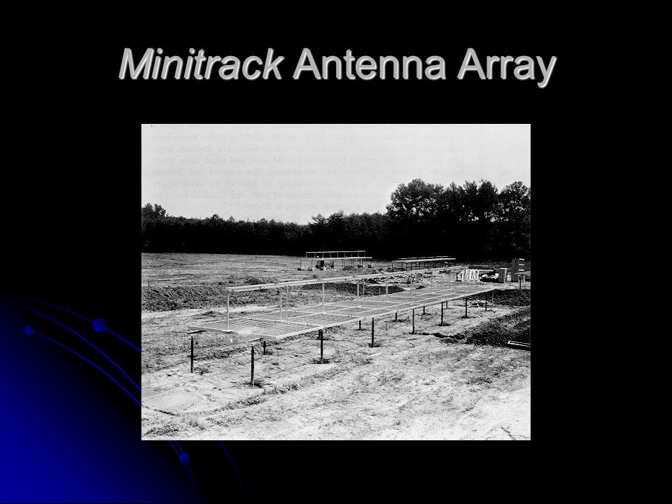Minitrack Antenna Array