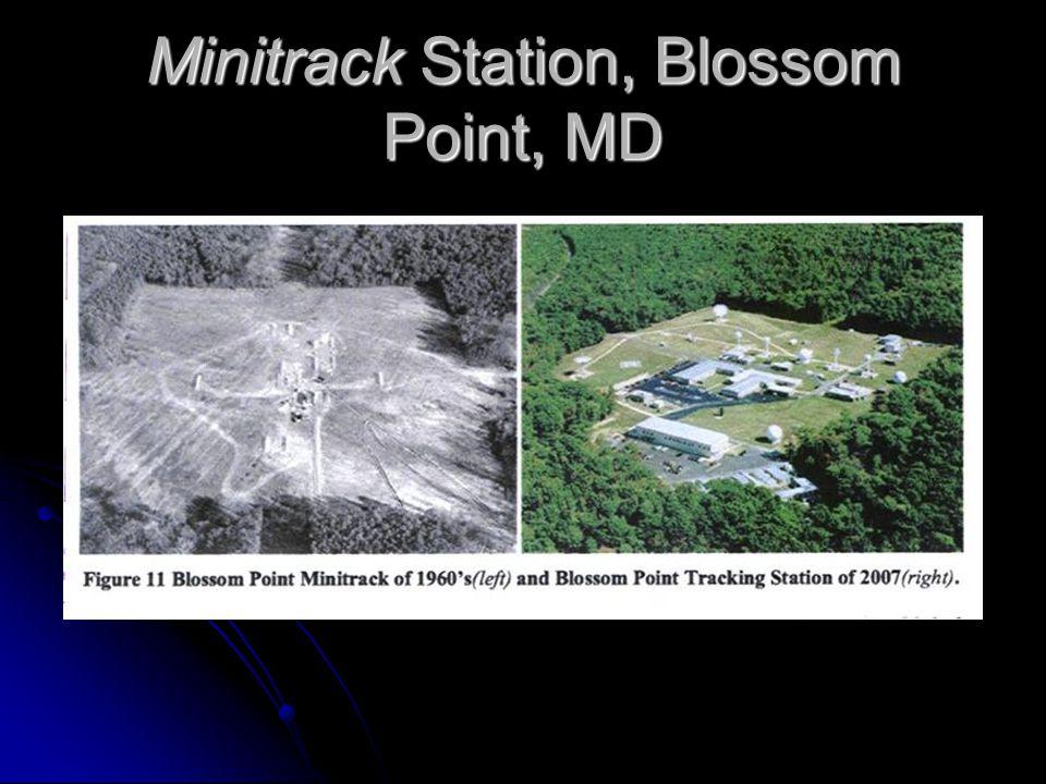 Minitrack Station, Blossom Point, MD