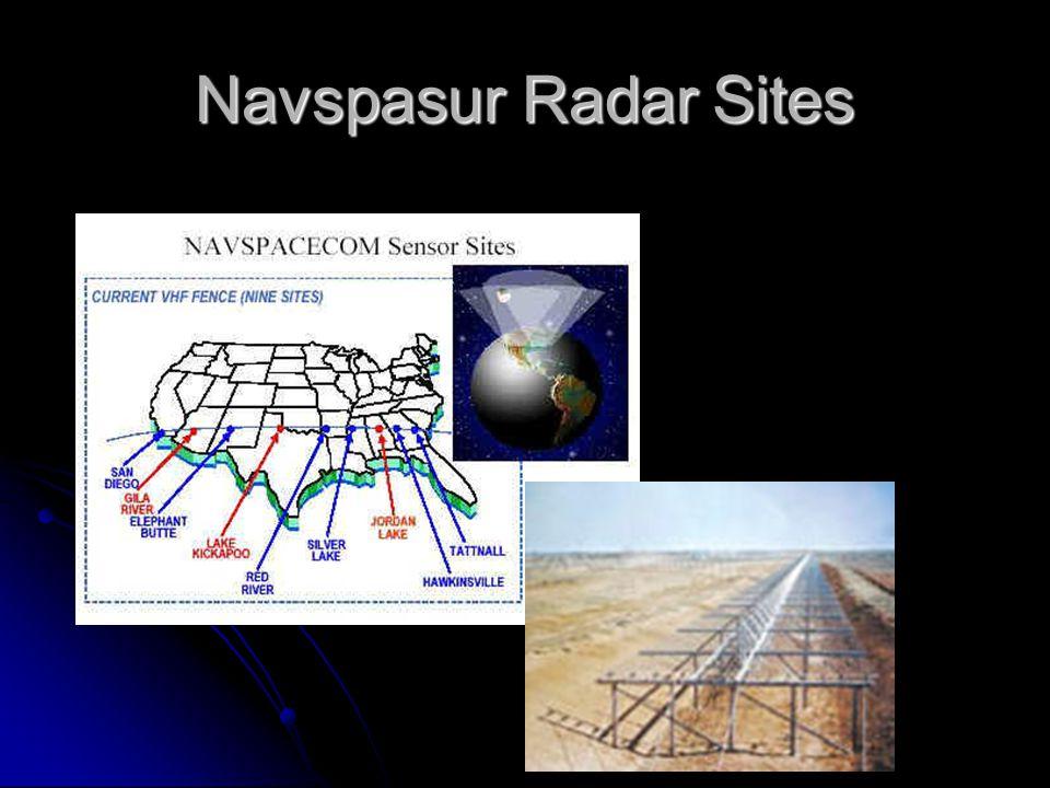 Navspasur Radar Sites